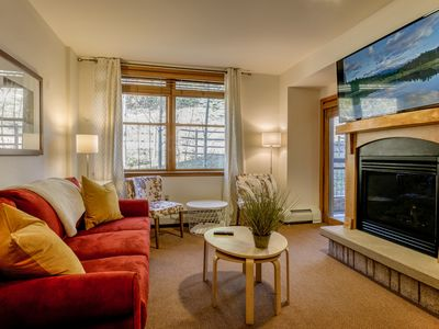 Photo for Not To Miss Ski In/Ski Out Condo | Close To Everything | Direct Slope Views!
