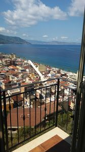Photo for Independent panoramic apartment with sea view