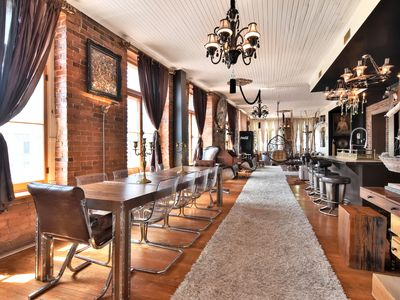 Photo for Luxury Dreamy Designer Loft Heart Of Old Montreal