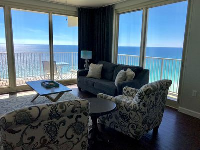 Photo for 3 bed 3 bath Breathtaking views! Sleeps 9. Over 1400 sq feet.  reserved parking