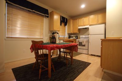 Dining room with Dining table
