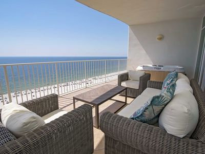 Photo for Gulf Front~ Sleeps 10 ~ Turquoise Place 1003C ~ Lazy River ~ Balcony Hot Tub/Grill ~ Great Amenities