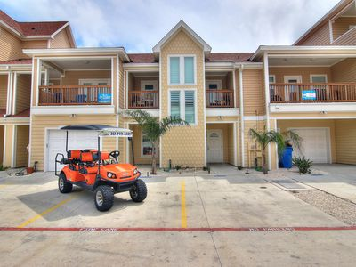 Photo for Endless Happy Hour: Free Golf Cart, Heated Pool, Close to Beach, Palapa