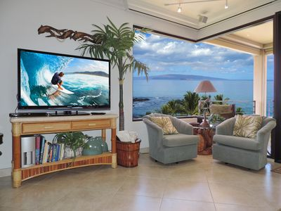 """Photo for """"Sunsational""""Ocean Condo in Polo's BestSpot-HUGE OCEAN VIEWS& only steps to sand"""