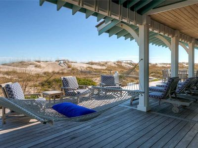 Photo for The Coastal Beach House has loads of personality, and breathtaking views from its porches.