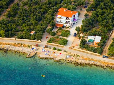 Photo for Apartments Bogumila, (14777), Mandre, island of Pag, Croatia