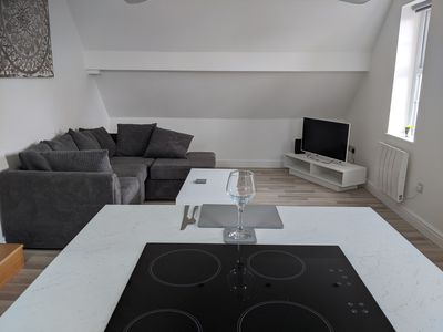 Photo for Newly Renovated Modern Rooftop Northampton Apartment