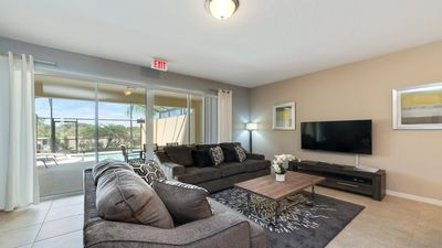 Photo for Exceptional 4 bed townhome with large dip pool on Solterra Resort + Lazy river