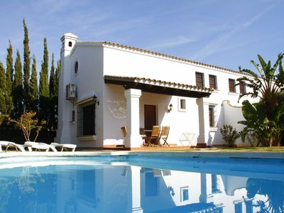 Photo for VILLA WITH PRIVATE POOL, BBQ, QUIET AREA, AIR CONDITIONING, WIFI, PARKING