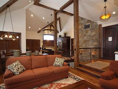 Photo for Exquisite Ski-In/Ski-Out Townhome, Beauitful Décor, Heated Pool and Hot Tub On-Site