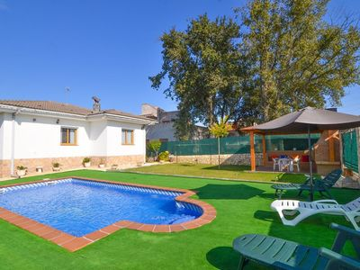 Photo for Club Villamar - Nice villa with a private swimming pool, garden and terrace in a quiet neighborhood.