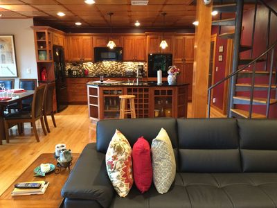 Photo for Year-Round Beautiful Retreat Home on Scenic Delaware River 90 miles from NYC