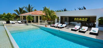 Villa La Favorita  -  Ocean View - Located in  Magnificent Terres Basses with Private Pool