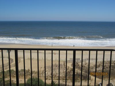 Photo for It's all about the View - 2 Bedroom , 2 Bath oceanfront