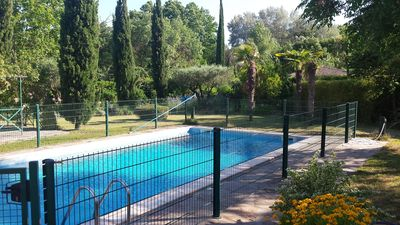 Photo for Villa with pool and large garden on the edge of town, none opposite.