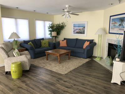 Photo for Bright & Spacious 4 BR Ocean Block Home! Private Roof Top Deck! Fri to Fri