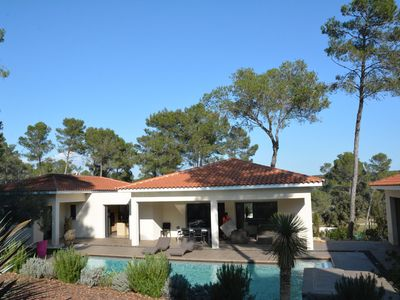 Photo for BEAUTIFUL CONTEMPORARY VILLA WITH POOL IN MONTPELLIER