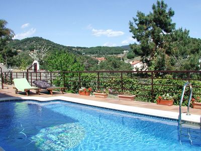 Photo for Leisurely Villa in Sant Pol de Mar with Swimming Pool