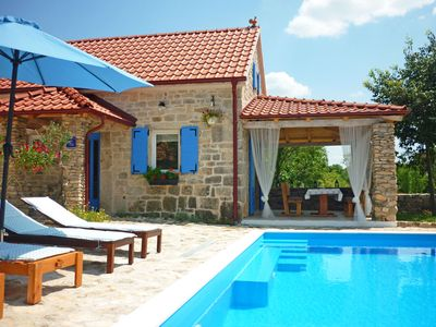 Photo for This 2-bedroom villa for up to 6 guests is located in Oklaj and has a private swimming pool, air-con