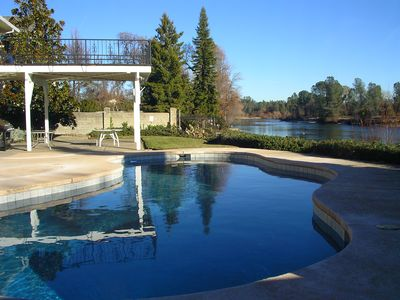 Pool Overlooking The Sacramento River
