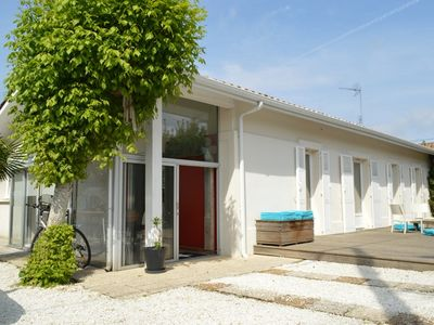 Photo for BEAUTIFUL HOUSE WITH SWIMMING POOL 6/8 PERS IN THE HEART OF THE ARCACHON BASIN