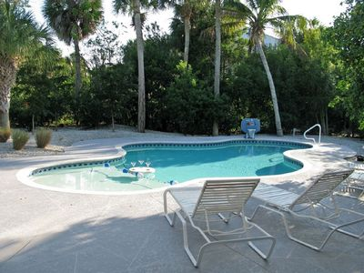 Photo for Very Secluded and Private House with Pool, Near Beach.  11 blocks from town.