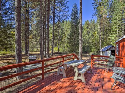 Photo for NEW! Rustic McCloud Home w/ Deck & On-Site Stream!