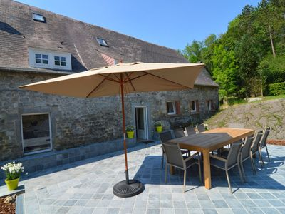 Photo for Pretty mill transformed into cottage with infrared sauna and beautiful terrace!