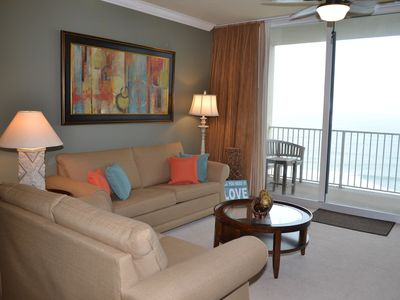 Photo for Beautiful Gulf View One Bedroom w/ Complimentary Beach Chairs!