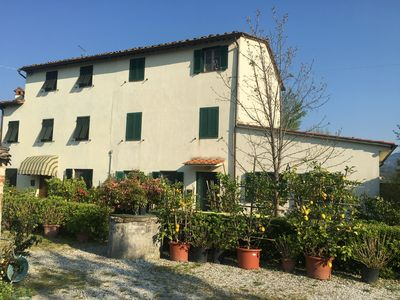 Photo for Lovely Spacious House set in Picturesque Countryside of Lucca Hills