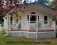 Our Stay at Arbor Rouge Cottage