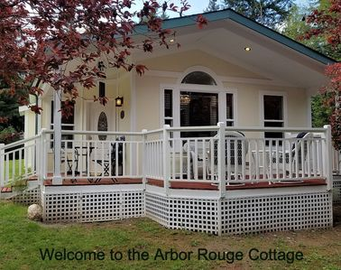 Photo for Arbor Rouge Cottage - A Romantic Relaxing Get-a-way!
