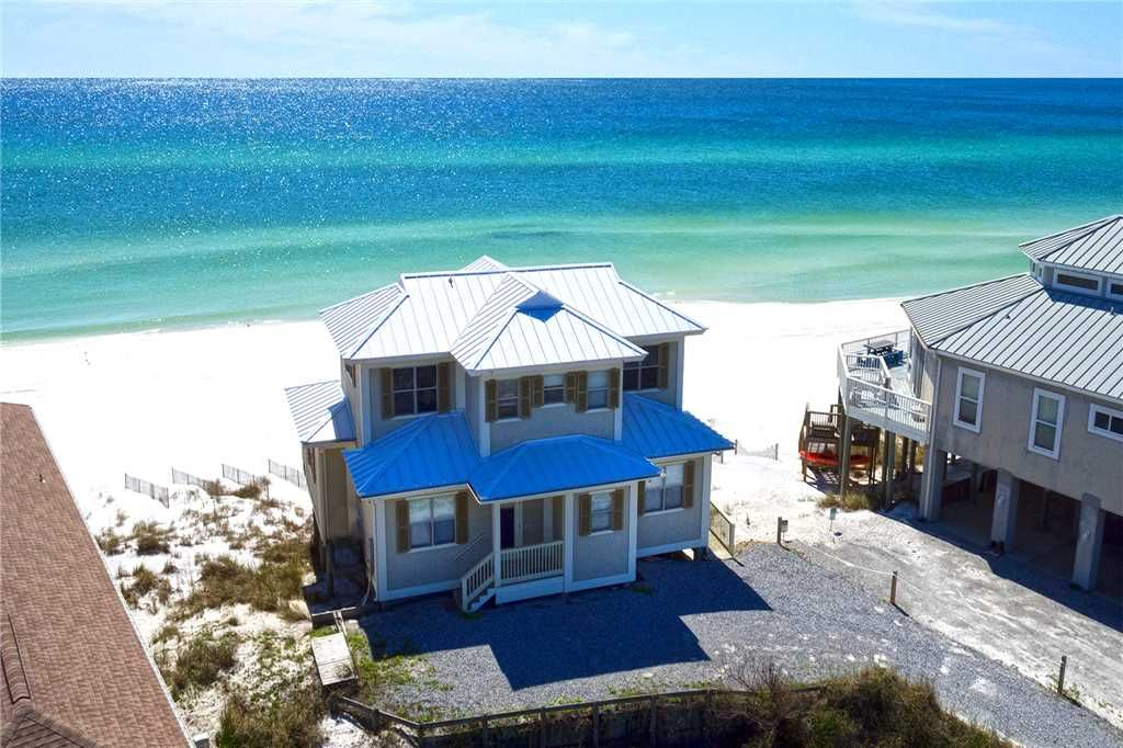 Allen House Gulf Front Dune Beach 30a Close To S Dining