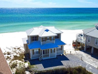 Photo for Allen House - Gulf Front! Dune Allen Beach! 30A! Close to Shops & Dining!