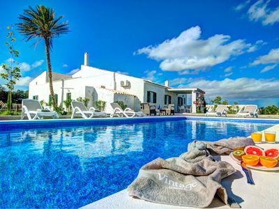 Photo for Alaior Villa, Sleeps 8 with Pool, Air Con and WiFi