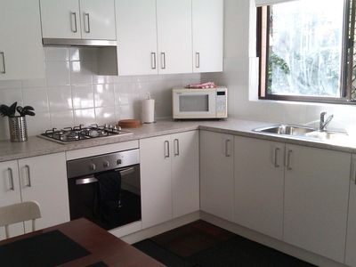 Photo for Quality 2 bedroom ground floor apartment next  to UWA with free Wi-Fi