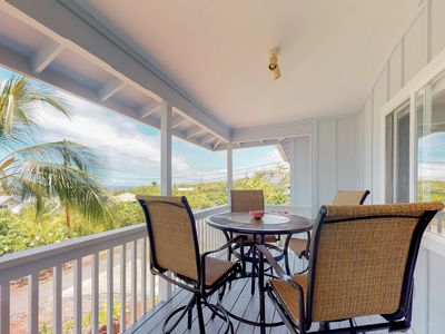 Photo for Beautifully remodeled ocean view home across from beach w/ huge lanai & garage