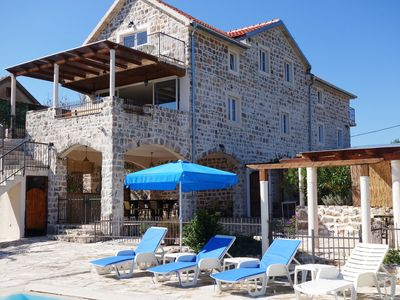 Luxury Restored Stone Villa With Private Pool, Large Gardens And Sea Views