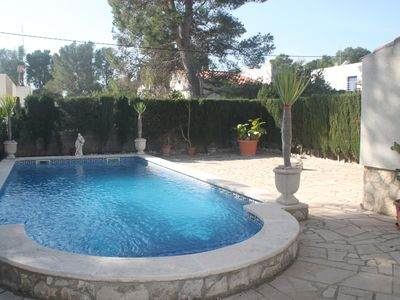 Photo for CASA COCO 8 people protected private pool with go, private parking.