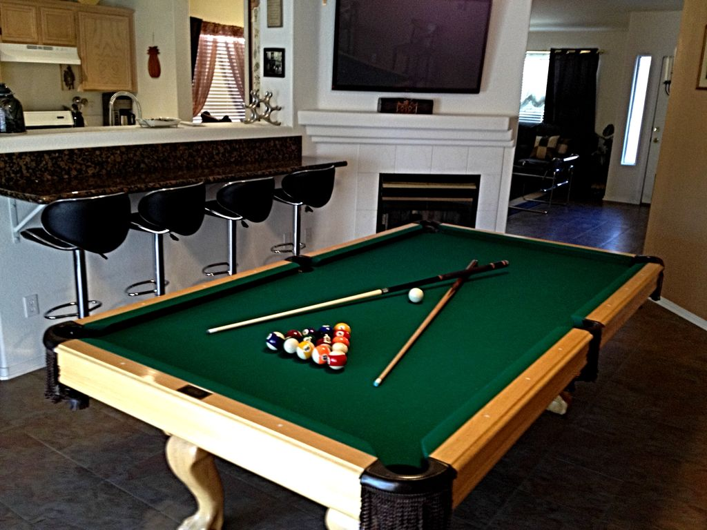 Family Villa With Hot Spa Pool Table BBQ TV Sets WiFi Very - Pool table rental las vegas