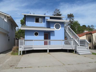 Photo for Walk to beach! Super cute beach house w/Hot Tub!