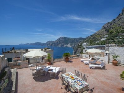 Photo for Casa Ella  Praiano family home with  private parking, excellent WiFi connection