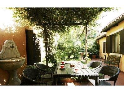 Photo for Quiet, just renovated house with private garden, few minutes from Rialto