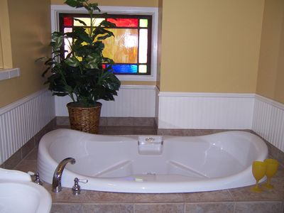 Come soak in the 86 gallon tub!