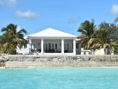 Photo for Villa Blanca - Luxury Beach House in Treasure Cay  at Sunrise Point