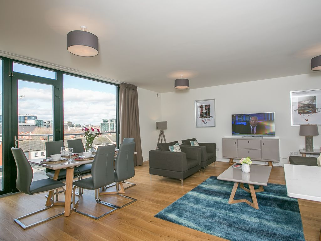 Samuel Beckett Bridge Penthouse Apartment