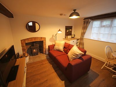 Photo for Cosy 18th Century Exmoor Cottage - Log Burner - Dog Friendly - Village Location