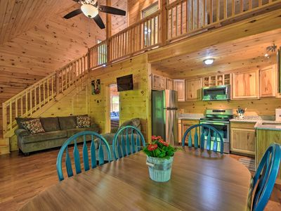 Photo for NEW! Murphy Cabin w/ Spacious Deck & Forest Views!