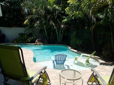 Less than 200 steps to the Gulf / Private heated pool - Great family home