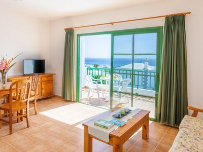Photo for Lovely island home w/ free WiFi, furnished balcony w/ sea views, & private pool!